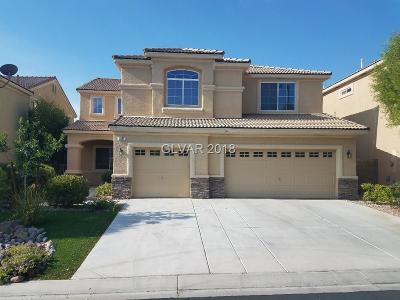 Las Vegas Single Family Home For Sale: 5831 Ivy Vine Court