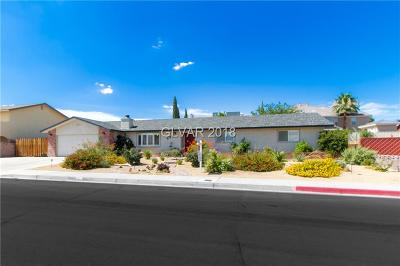 Boulder City Single Family Home Under Contract - No Show: 888 Fairway Drive
