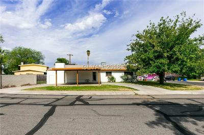 Las Vegas Single Family Home For Sale: 4713 Meredith Avenue