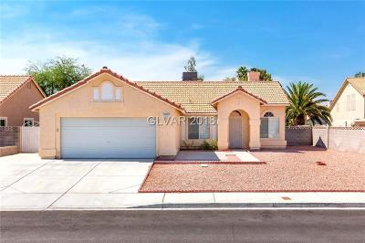 Las Vegas NV Single Family Home For Sale: $241,000