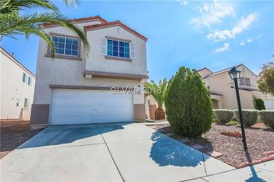 North Las Vegas Single Family Home For Sale: 6762 Cinnabar Coast Lane