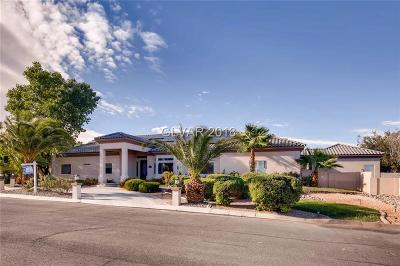 Las Vegas Single Family Home For Sale: 4485 Fort Apache Road