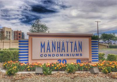 Henderson, Las Vegas Condo/Townhouse For Sale: 68 Serene Avenue #418