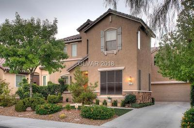 Las Vegas Single Family Home For Sale: 11221 Piazzale Street