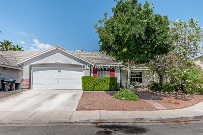 North Las Vegas Single Family Home For Sale: 5535 Logan Creek Court