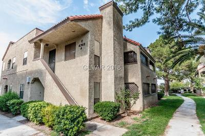 Las Vegas NV Condo/Townhouse For Sale: $138,500
