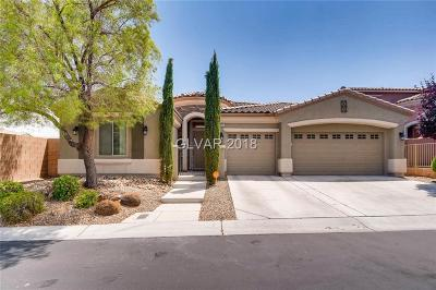 Las Vegas Single Family Home For Sale: 9949 Village Walk Avenue