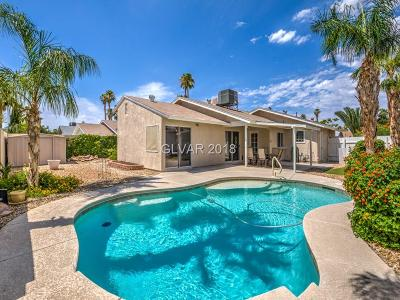 Las Vegas Single Family Home For Sale: 3850 Pamplona Street