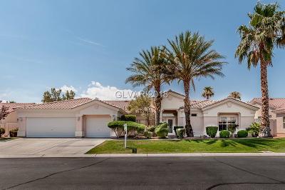 Las Vegas Single Family Home For Sale: 7501 Brittlethorne Avenue