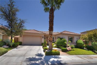 Las Vegas Single Family Home For Sale: 2992 Soft Horizon Way