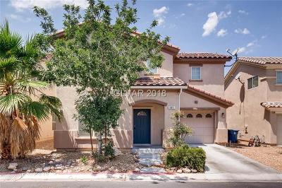 Las Vegas NV Single Family Home For Sale: $269,900