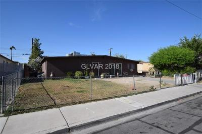 Las Vegas NV Single Family Home For Sale: $159,900