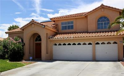Las Vegas Single Family Home For Sale: 3709 River Canyon Rd.