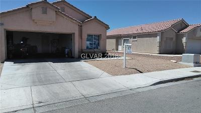 North Las Vegas Single Family Home For Sale: 1209 Star Meadow Drive