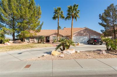 Las Vegas Single Family Home For Sale: 3380 Pioneer Way