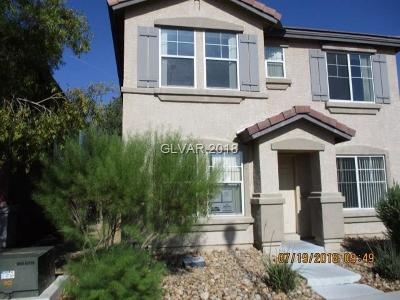 North Las Vegas Single Family Home For Sale: 5221 Concho Heights Street