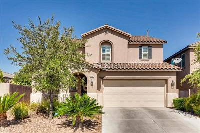 Las Vegas Single Family Home For Sale: 1085 Hickory Park Street