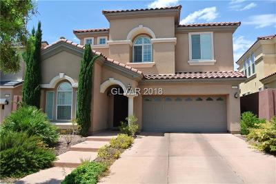 Las Vegas Single Family Home For Sale: 1253 Elliston Road