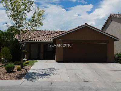 North Las Vegas Single Family Home For Sale: 4121 Hollis Street