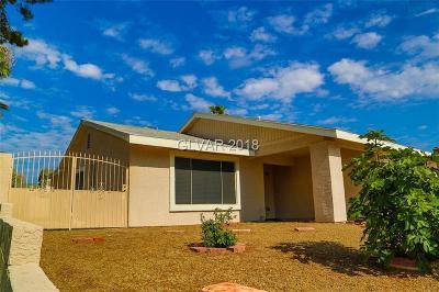 Las Vegas NV Single Family Home For Sale: $340,000
