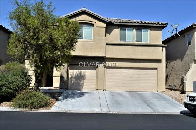 Las Vegas Single Family Home For Sale: 3509 Spotted Sandpiper Street