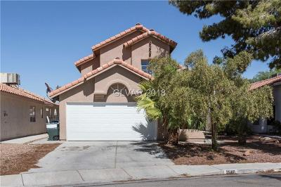 Las Vegas Single Family Home For Sale: 2680 Rungsted Street