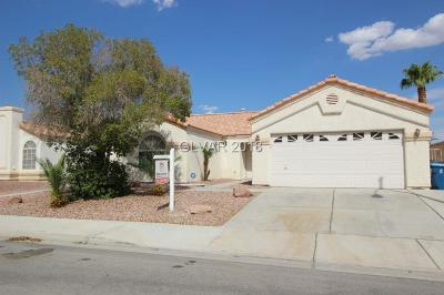 North Las Vegas Single Family Home For Sale: 6124 Satre Court