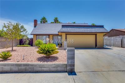 Las Vegas NV Single Family Home Under Contract - No Show: $289,000