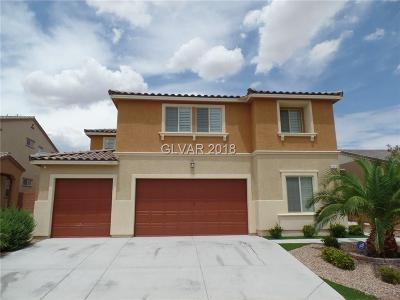 North Las Vegas Single Family Home For Sale: 1112 Adobe Creek Court