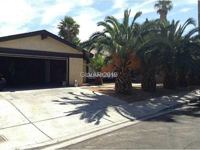 LAS VEGAS Single Family Home For Sale: 4487 McMillan Road