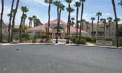 Las Vegas Condo/Townhouse For Sale: 5000 5812 Street #312