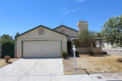 Las Vegas Single Family Home For Sale: 3731 Twinkle Star Drive