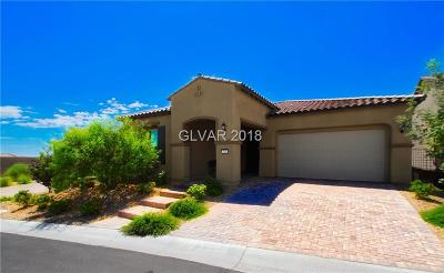 Las Vegas Single Family Home For Sale: 111 Colantonio Court