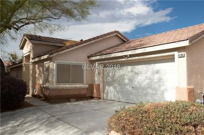 North Las Vegas Single Family Home For Sale: 4504 Grotto Court