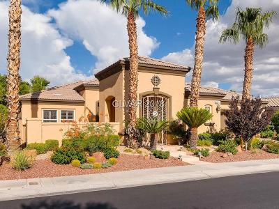Las Vegas Single Family Home For Sale: 4730 Denaro Drive