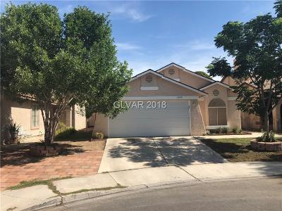 LAS VEGAS Single Family Home For Sale: 6648 Messenger Court