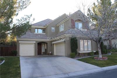 Las Vegas NV Single Family Home For Sale: $625,000