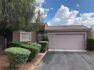LAS VEGAS Single Family Home For Sale: 5228 Mineral Lake Drive