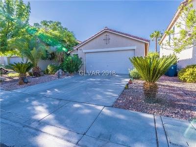 LAS VEGAS Single Family Home For Sale: 6222 Prairie Brush Court