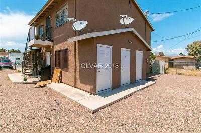 North Las Vegas Multi Family Home Under Contract - No Show: 1818 Princeton Street
