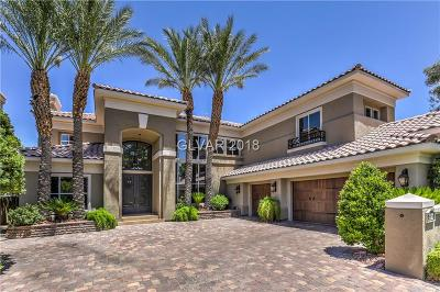 Las Vegas NV Single Family Home Under Contract - Show: $1,295,000
