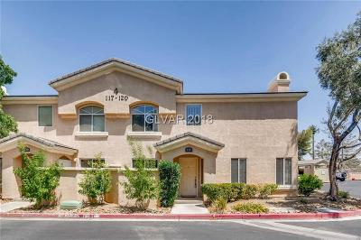 Las Vegas Condo/Townhouse Under Contract - No Show: 3950 Sandhill Road #117