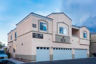 North Las Vegas NV Condo/Townhouse For Sale: $153,000
