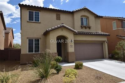 HENDERSON Single Family Home For Sale: 3629 Vino Biano Avenue