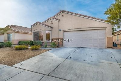 Las Vegas Single Family Home For Sale: 7753 Boswell Court