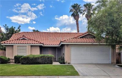 Clark County Single Family Home For Sale: 2811 Barrel Cactus Drive