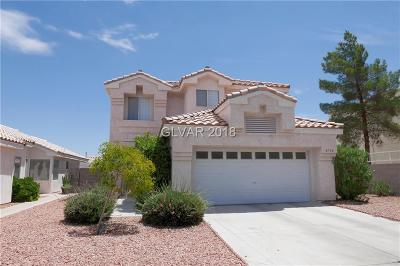 HENDERSON Single Family Home For Sale: 8798 Arawana Place