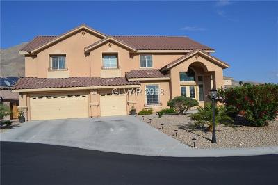 Las Vegas Single Family Home Under Contract - No Show: 166 Ginger Root Court