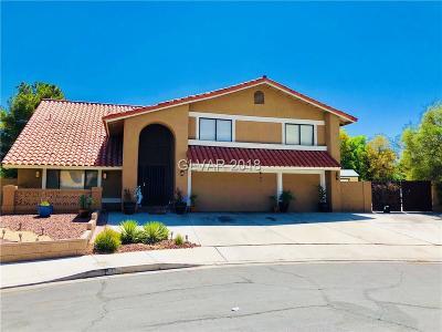 Las Vegas NV Single Family Home For Sale: $475,000