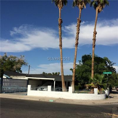 Las Vegas NV Single Family Home For Sale: $317,000